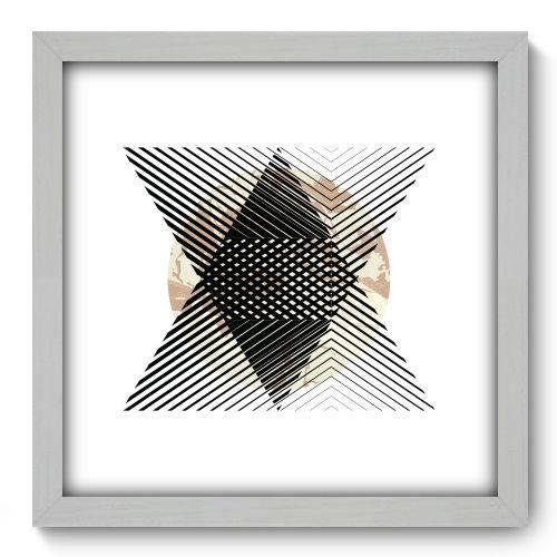 Quadro Decorativo - Abstrato - N2159 - 33cm X 33cm