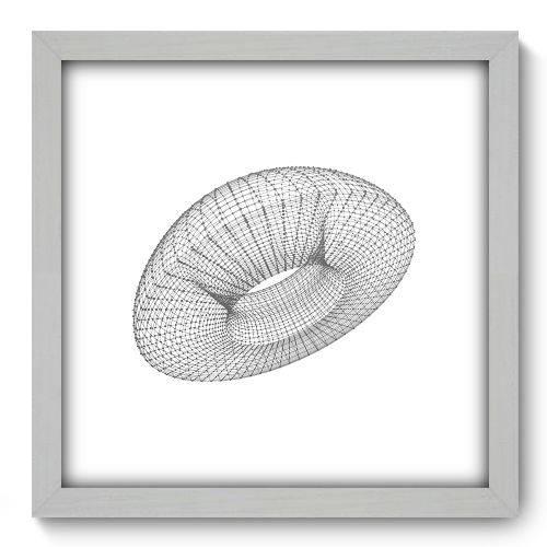 Quadro Decorativo - Abstrato - N2136 - 33cm X 33cm