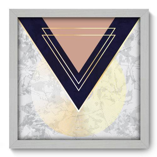 Quadro Decorativo - Abstrato - N2180 - 33cm X 33cm