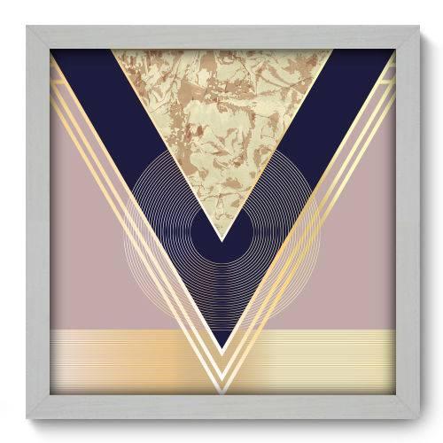 Quadro Decorativo - Abstrato - N2181 - 33cm X 33cm