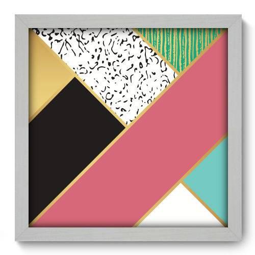 Quadro Decorativo - Abstrato - N2188 - 33cm X 33cm