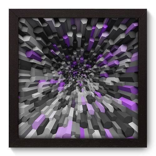 Quadro Decorativo - Abstrato - N5022 - 22cm X 22cm