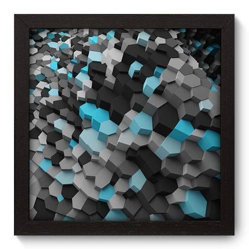 Quadro Decorativo - Abstrato - N5020 - 22cm X 22cm