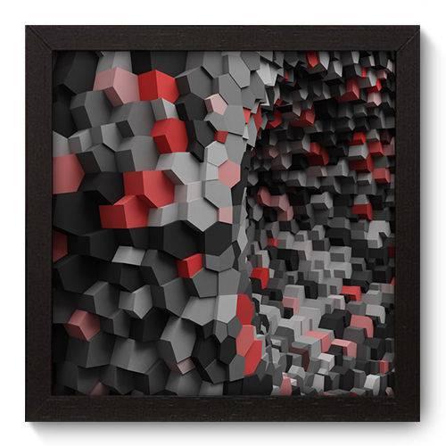 Quadro Decorativo - Abstrato - N5021 - 22cm X 22cm