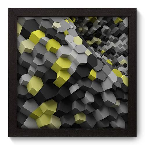 Quadro Decorativo - Abstrato - N5018 - 22cm X 22cm