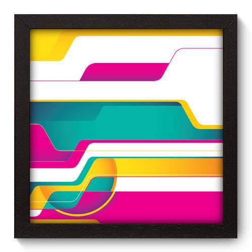 Quadro Decorativo - Abstrato - N5204 - 22cm X 22cm