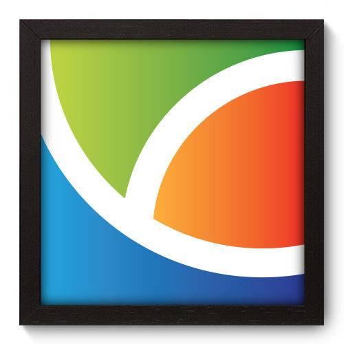 Quadro Decorativo - Abstrato - N5053 - 22cm X 22cm