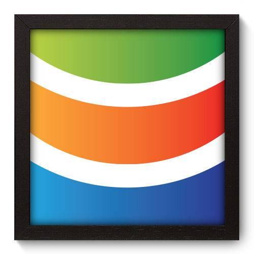 Quadro Decorativo - Abstrato - N5054 - 22cm X 22cm