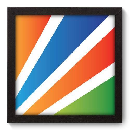 Quadro Decorativo - Abstrato - N5055 - 22cm X 22cm