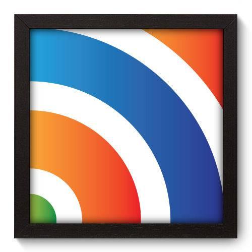 Quadro Decorativo - Abstrato - N5056 - 22cm X 22cm