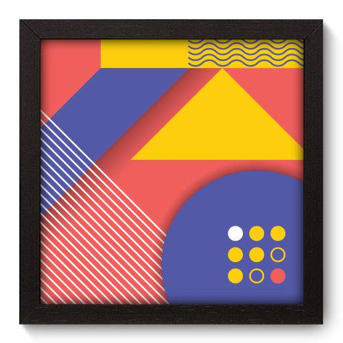 Quadro Decorativo - Abstrato - N5062 - 22cm X 22cm