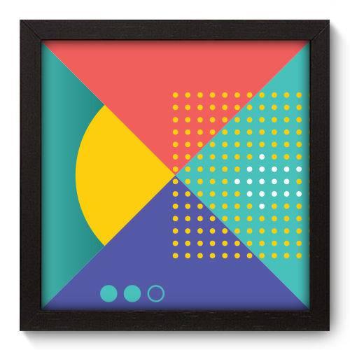 Quadro Decorativo - Abstrato - N5060 - 22cm X 22cm