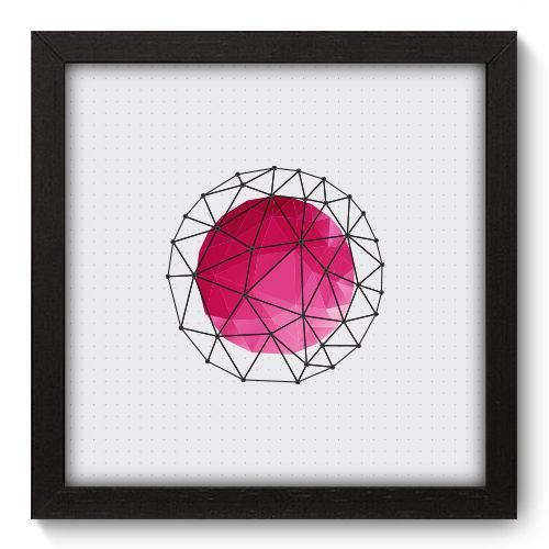 Quadro Decorativo - Abstrato - N5091 - 22cm X 22cm