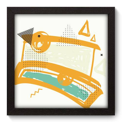 Quadro Decorativo - Abstrato - N5106 - 22cm X 22cm