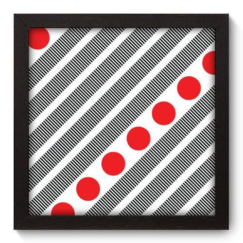 Quadro Decorativo - Abstrato - N5115 - 22cm X 22cm
