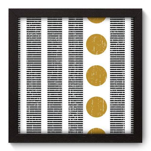 Quadro Decorativo - Abstrato - N5119 - 22cm X 22cm