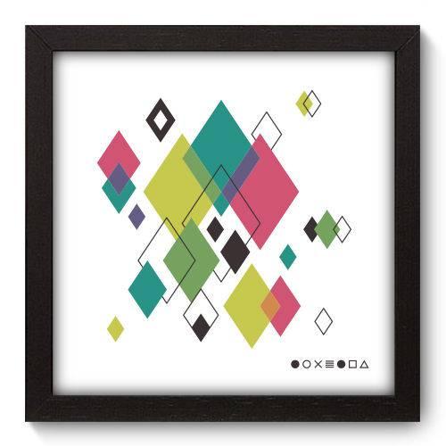 Quadro Decorativo - Abstrato - N5125 - 22cm X 22cm