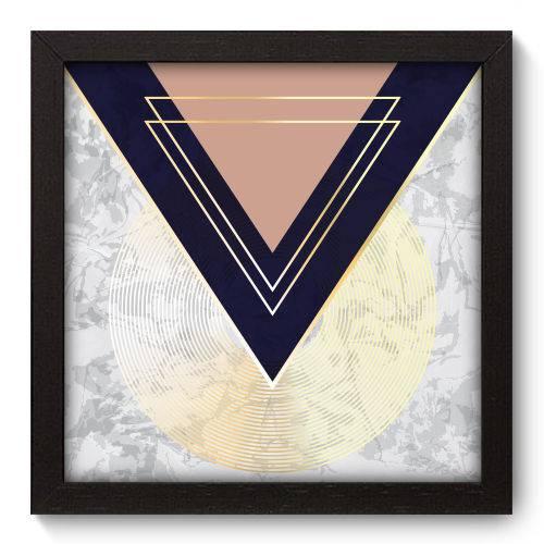 Quadro Decorativo - Abstrato - N5180 - 22cm X 22cm