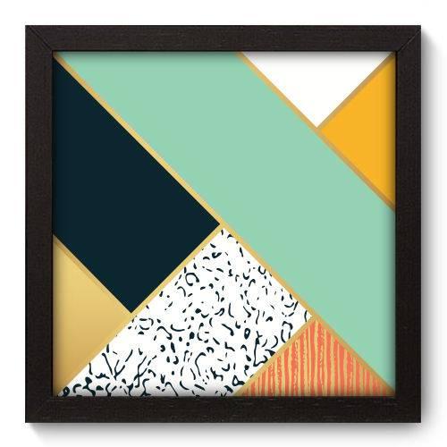 Quadro Decorativo - Abstrato - N5187 - 22cm X 22cm