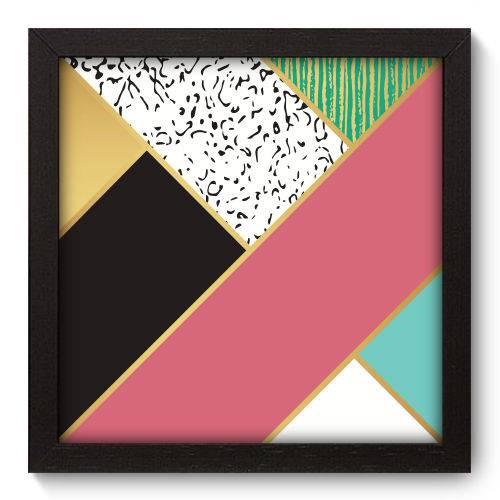 Quadro Decorativo - Abstrato - N5188 - 22cm X 22cm