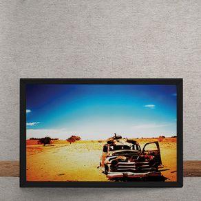 Quadro Decorativo Album Come My Way Tom Neville Frank Stafford 25x35