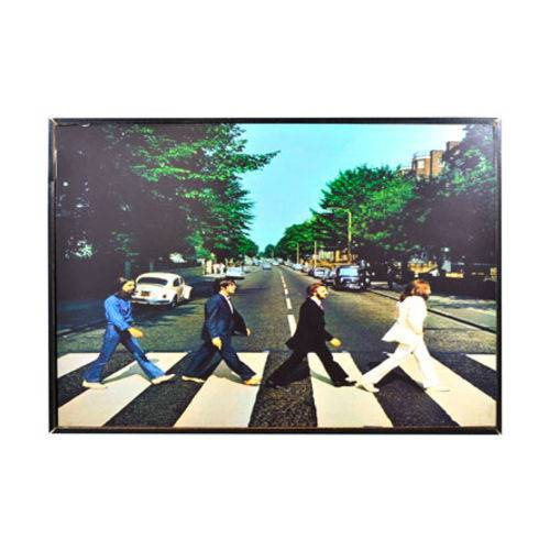 Quadro Decorativo Beatles Abbey Road 20x30 Cm.