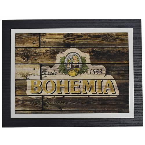 Quadro Decorativo Bohemia - 30 X 23 Cm Único Único