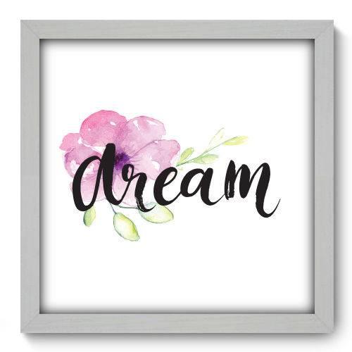 Quadro Decorativo Dream N2003 33cm X 33cm