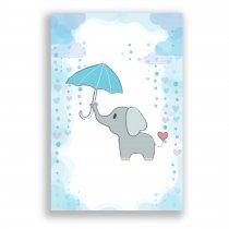 Quadro Decorativo Elefante - Ps226