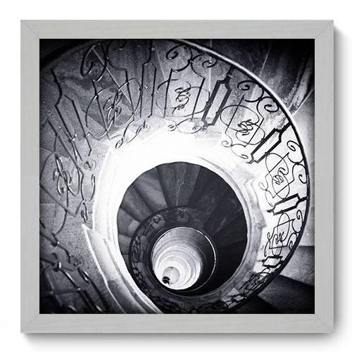 Quadro Decorativo - Escada - N2055 - 33cm X 33cm