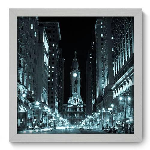 Quadro Decorativo - Filadélfia - 33cm X 33cm - 087qnmbb