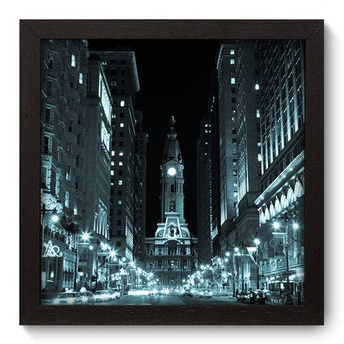 Quadro Decorativo Filadélfia N5087 22cm X 22cm