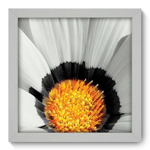 Quadro Decorativo - Flor - 22cm X 22cm - 007qnfab
