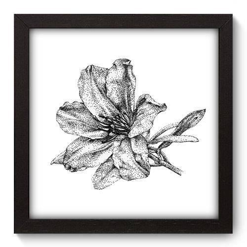 Quadro Decorativo - Flor - 22cm X 22cm - 018qnfap