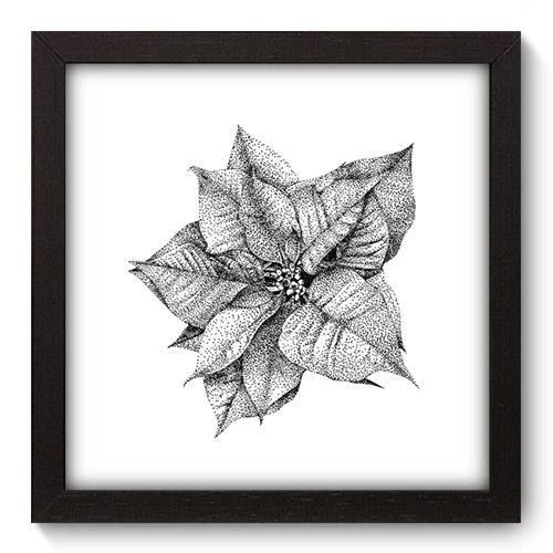 Quadro Decorativo - Flor - 22cm X 22cm - 019qnfap