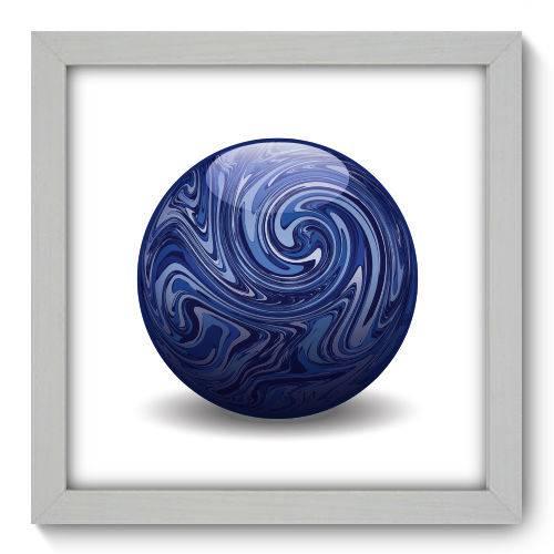 Quadro Decorativo - Flores - 22cm X 22cm - 032qnfab