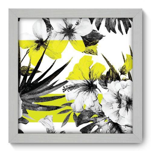 Quadro Decorativo Flores N1026 22cm X 22cm