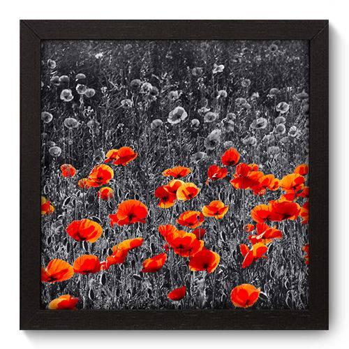 Quadro Decorativo Flores N5022 22cm X 22cm