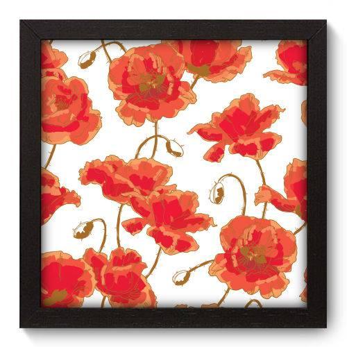 Quadro Decorativo Flores N5023 22cm X 22cm