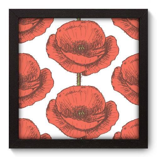 Quadro Decorativo Flores N5025 22cm X 22cm