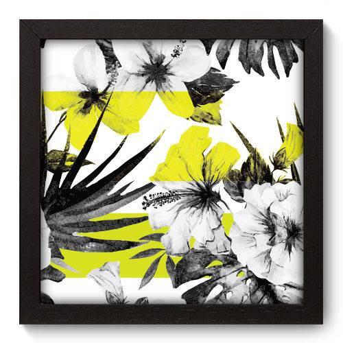 Quadro Decorativo Flores N5026 22cm X 22cm