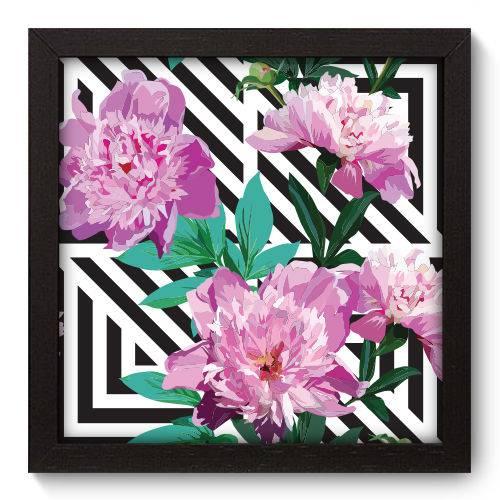 Quadro Decorativo Flores N5029 22cm X 22cm