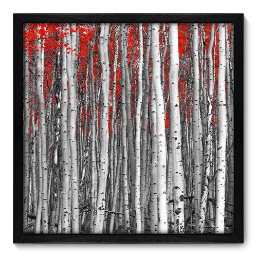 Quadro Decorativo - Floresta - 50cm X 50cm - 059qndcp