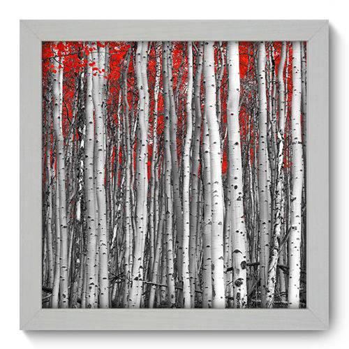Quadro Decorativo Floresta N1059 22cm X 22cm