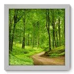 Quadro Decorativo Floresta N1139 22cm X 22cm
