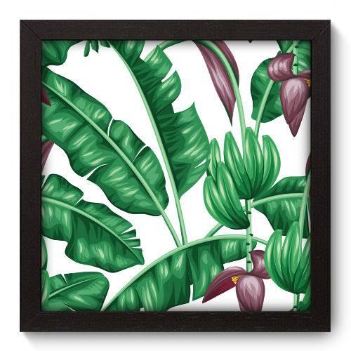 Quadro Decorativo Folhas N5092 22cm X 22cm