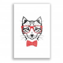 Quadro Decorativo Gato - Ps221