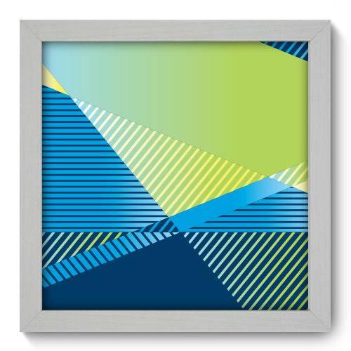 Quadro Decorativo - Geometria - 22cm X 22cm - 200qnaab