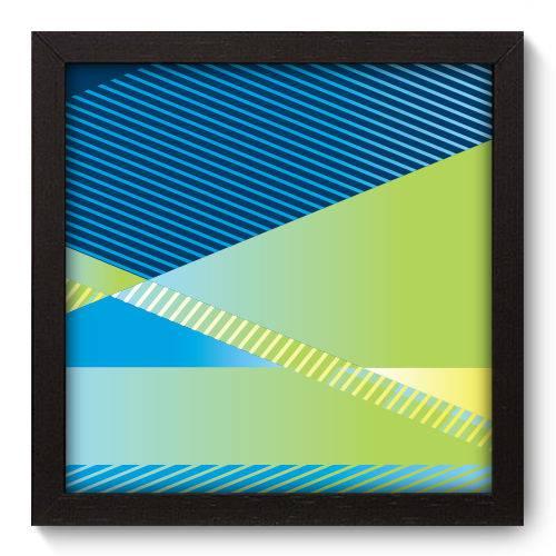 Quadro Decorativo - Geometria - 22cm X 22cm - 198qnaap