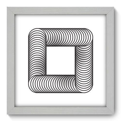 Quadro Decorativo Geometria N1084 22cm X 22cm